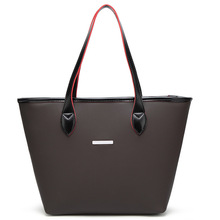 FANSTY PU Leather Women Tote Bag Bucket Shoulder Bags Wing Solid Big Handbag Large Capacity Top-handle Bags Fashion New Arrivals(China)