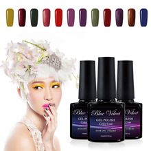 Blue Velvet 10ml UV Curing Gel Varnish Nice Soak Off Gel Lacquers Pick 1 from 177 Colors 1477-1578