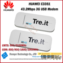 Wholesale Original Unlock DC-HSPA+ 43.2Mbps HUAWEI E3351 3G USB Wireless Modem And 3G USB Dongle