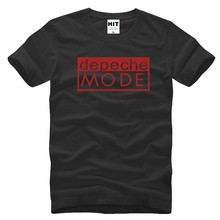 Alternative Dance Men T Shirts Distinct Depeche Mode T Shirt Short Sleeve O Neck Man Tops