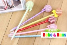 New cute Lollipop style II ball pen / fashion Promotion Gift /Wholesale(China)