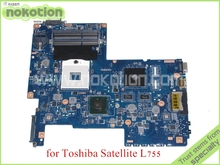 Buy NOKOTION H000031380 toshiba satellite L750 L755 laptop motherboard HM55 Nvidia graphics DDR3 for $115.90 in AliExpress store
