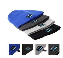 20pcs Warm Smart Bluetooth Cap Soft Beanie Hat Wireless Headphone Headset hands free Speaker for iphone xiaomi huawei smartphone