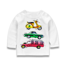 Buy Toomine Autumn Boys T Shirt Long Sleeve Kids T-shirts Boy 2017 Spring Cartoon Children Girls T-shirts Baby Boy Tops for $5.19 in AliExpress store