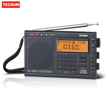Original TECSUN PL-600 Digital Tuning Full-Band FM/MW/SW-SBB/PLL SYNTHESIZED Stereo Radio Receiver (4xAA) PL600 rqdio VS Degen(China)