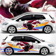 Tailor-made CG Animation Body Car Stickers Tokyo Ghoul Car Modification Decals Japan Racing Vinyl Stickers Auto Graphics Decals