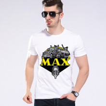 2017 Summer New MAX Truck Costume Short Sleeve T shirt Car Styling Men Funny T-shirt Top Brand Clothing Moe Cerf H1-9#