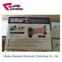 Korea IDP Smart printer  Black  Ribbon SIADC-S-K 650740 ribbon,1200 prints per roll,and for use with SMART  ID card printers