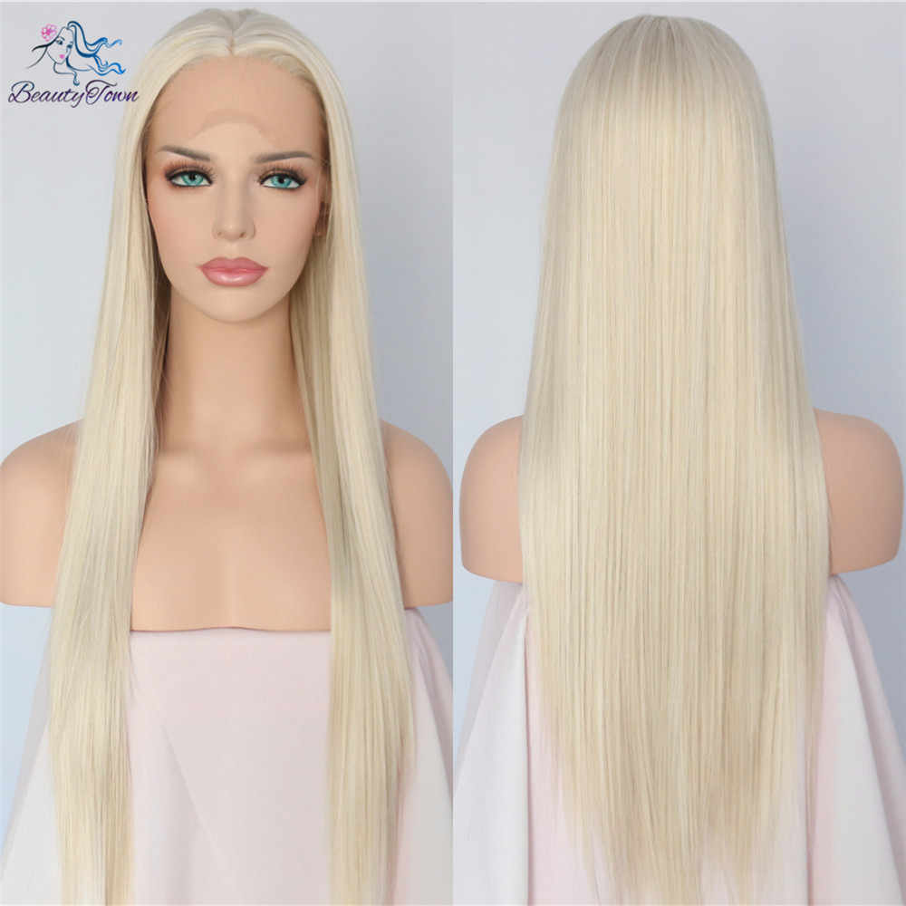 BeautyTown Hand Tied Light Blond Color Long