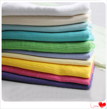 wholeale ethnic crinkled cotton crepe fabric curtains dress shirts cloth solid cotton wrinkled material