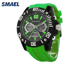 SMAEL Men Watch Brand Digital Mutifunctional Shockproof Cheap Smart Original Watch Male Casual Dive Dress Chronograph Hot WS1035(China)
