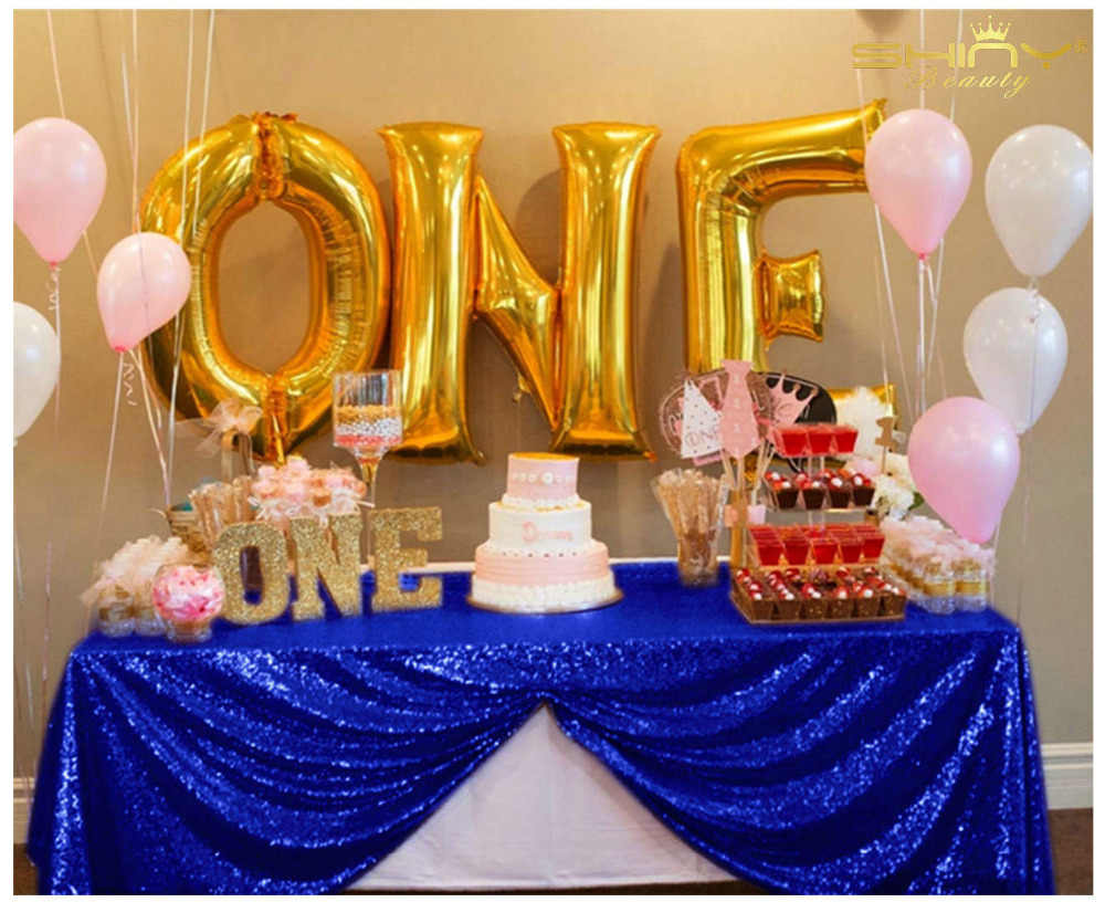 ShinyBeauty 60x102 in 150x260cm Royal Blue/Pink/Rose gold