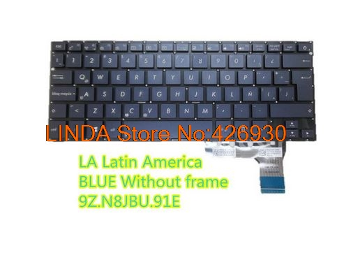 Portuguese PT Top Palmrest Case Keyboard for Asus UX302L UX302LA UX302LG Backlit