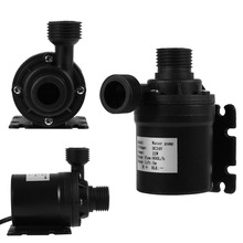 DC 24V Hot Water Circulation Pump Electric Water Pump Solar Energy Brushless Motor Aquarium Submersible 800L/H 5M