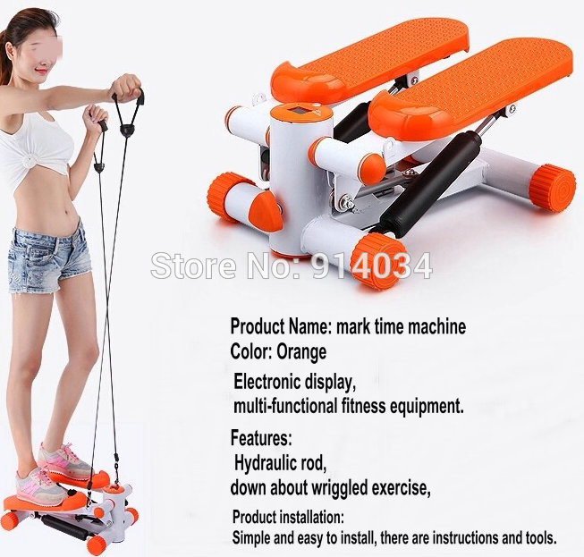 Mini Stepper Home Fitness Equipment Foot Mute Multifunction Machine Exercise Aerobic To Lose Weight