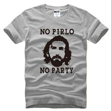 2016 New Summer Italian Football Star Andrea Pirlo T Shirts Men Polyester 2017bike Sleeve NO PIRLO NO PARTY cycling jerseysed Sp