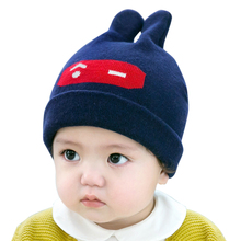 Cieik Baby Hat Fotografie Newborn Photo Props Soft Winter Wool Kids Caps Boys Girls beanie Rabbit Cut Infant Muts(China)