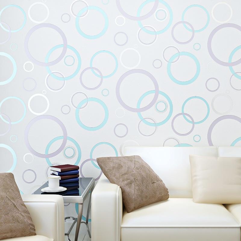 beibehang Simple modern papier peint environmental health non-woven bedroom wallpaper shop for living room backdrop wall paper<br>