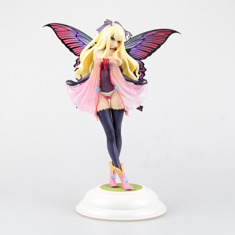 Kotobukiya Butterfly Fairy Girl Fairy Butterfly Garden Tony Annabel Mother PVC Action Figure Model Toys(China (Mainland))
