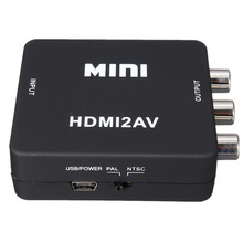 1080P Mini HDMI turn AV converter(China)