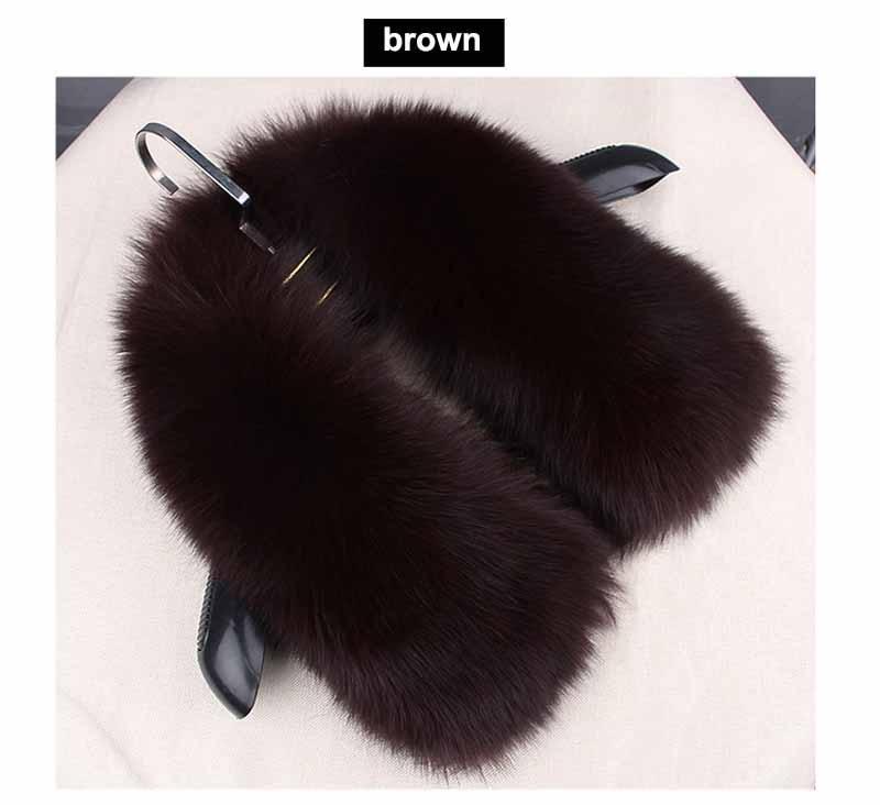 fox fur collar coffee 1