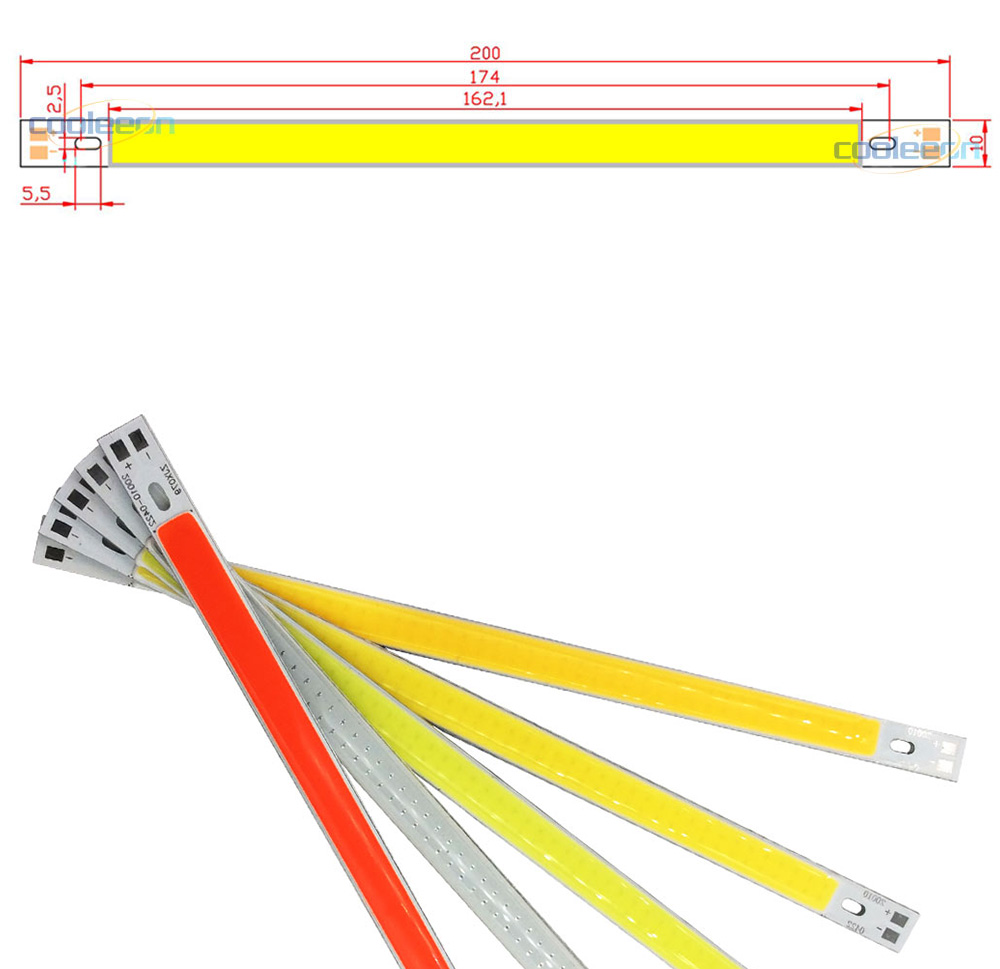 cob led light strip lamp bulb car auto lighting 10w 12V (1)