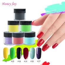 18g/Box Colorful Dipping Powder Without Lamp Cure Nails Dip Powder Summer Gel Nail Color Powder Natural Dry(China)