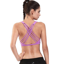 Buy Besgo Sexy Gym Bandage Sports Bra Women Fitness Running Bra Yoga Tops Exercise Brand Tank Vest Shockproof Sport Yoga Shirts for $11.59 in AliExpress store
