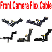 "100% New For iphone 4 4S 5 5S 5C 6 6S Plus 4.7"" 5.5"" Small Front Face Camera Flex Cable With Microphone(China)"