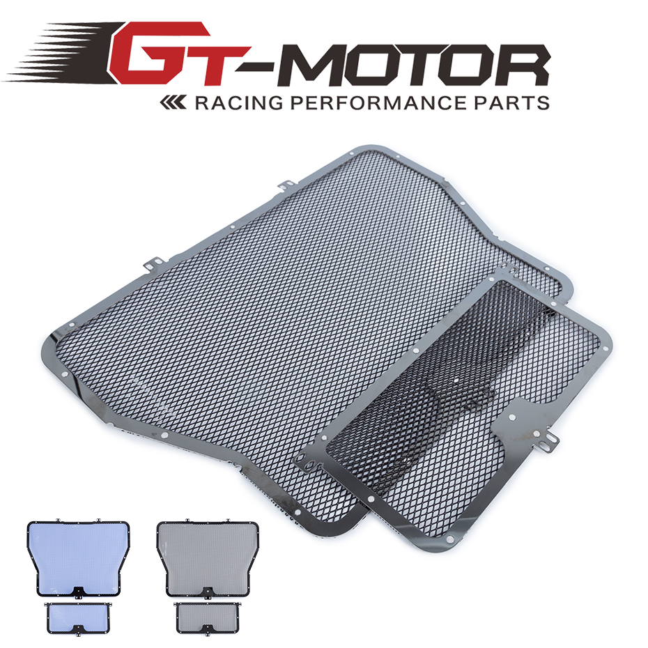 For BMW S1000R 2014-2017 S1000RR 2010-2017 S1000XR 2015-2017 HP4 2012-2014 Stainless Steel Motorcycle Radiator Guard Cover <br>