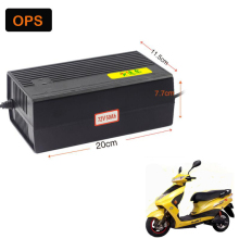 Free Shipping 48V 60AH OPS Lead Acid Battery Charger For Electric Bike Bicyle Scooters DC220-240V Output V 6.5A Volt