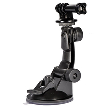 Go pro Car Suction Cup Adapter Window Glass Mount Holder Tripod for Gopro Hero 4 3 2 Sjcam Sj4000 Xiaomi Yi Camera Accessories