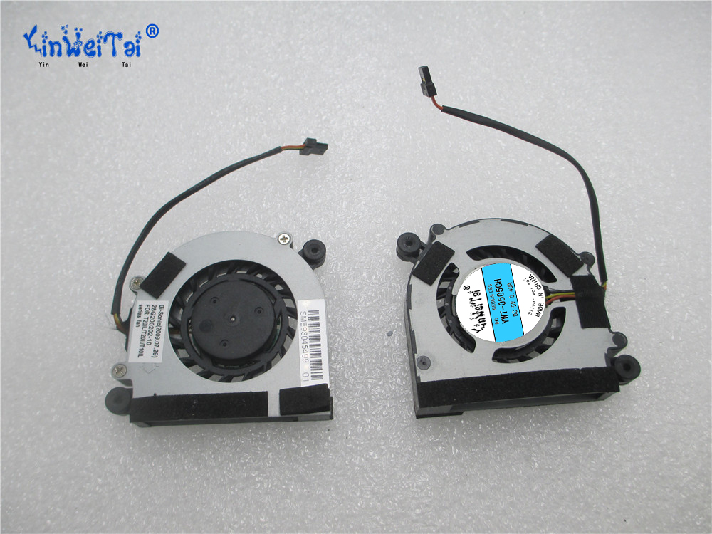 Laptop cpu cooling fan for BI-sonic HP400705H HP400705H-01 28G200202-10 T20LL T20II T10IL DC 5V 0.20A, Bare Fan<br>