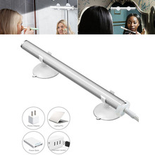 Multi-functional Bathroom LED Light Mirror Lamp 12Inch Portability USB Supply Lighting For Dressing Exhibition Outdoor(China)