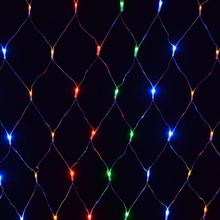 120 LED Net Light Outdoor Multi Coloured Garden Party String Lights Outdoor Waterproof LED Lights(China)