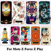 Phone Cases For Motorola Moto Z Force Z Play Droid Edition Verizon Vector maxx Hard Plastic Housing Covers Skin Shell Hood Bags