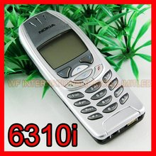 6310i Original Classic Nokia 6310i  Mobile phone 2G GSM Tri-band Unlocked Silver & One year warranty