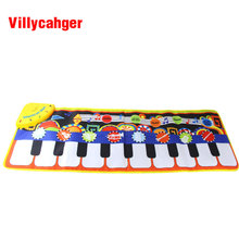 1 Pcs 36x110cm Baby Piano Mats Music Carpets Children Touch Play Game Musical Musical instrument sound Blanket Rug Toys gift(China)