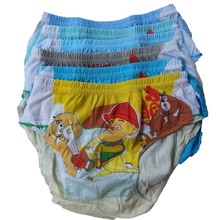 6 Pcs/lot Soft Organic Cotton Kids Underwear Colorful Boys Girls Shorts Panties Baby Boxer Children's Teenager Underwear 2-14Y(China)