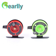 Gearlly Economic two color sellecting nice looking 1pc ice fishing reel fly fishing reel free shipping