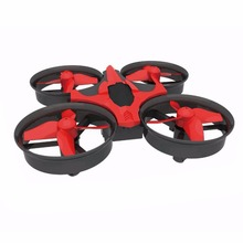 Mini RC Drone LeadingStar H36 2.4G 6-Axis 4 Channels rc Quadcopter LED Headless Mode One Key Return RC Helicopter Toy Drones