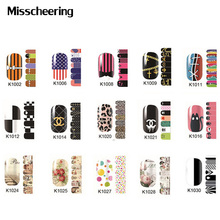 1pcs New Arrival Nail Stickers Flower Leopard Nail Patch,DIY Beauty Full Cover Adhesive Nail Art Decoration Supplies