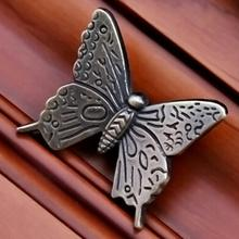 10pcs Handle Pull Knob Furniture Door Cupboard Drawer Cabinet Handles Vintage Butterfly Pull Handles Home Decoration