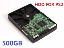 "500GB 3.5"" IDE Internal  Hard Drive for  PS2 with 57 games installed  USED HDD   one year warranty"