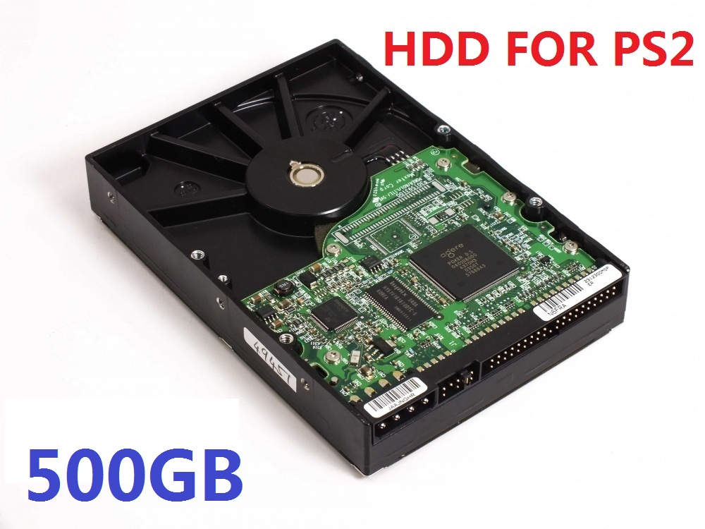 "500GB 3.5"" IDE Internal Hard Drive for PS2 with 100 games installed USED HDD one year warranty(China)"