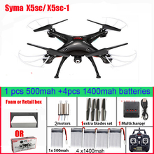 SYMA X5SC 4-CH 2.4GHz 6-Axis RC Quadcopter With 2MP HD Camera AUTO Hovering Headless Mode RC Drone SYMA X5C Upgraded Version