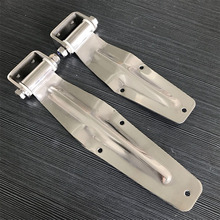 free shipping Stainless steel hinge container door hinge refrigerated cold store compartment fitting truck van express car hinge