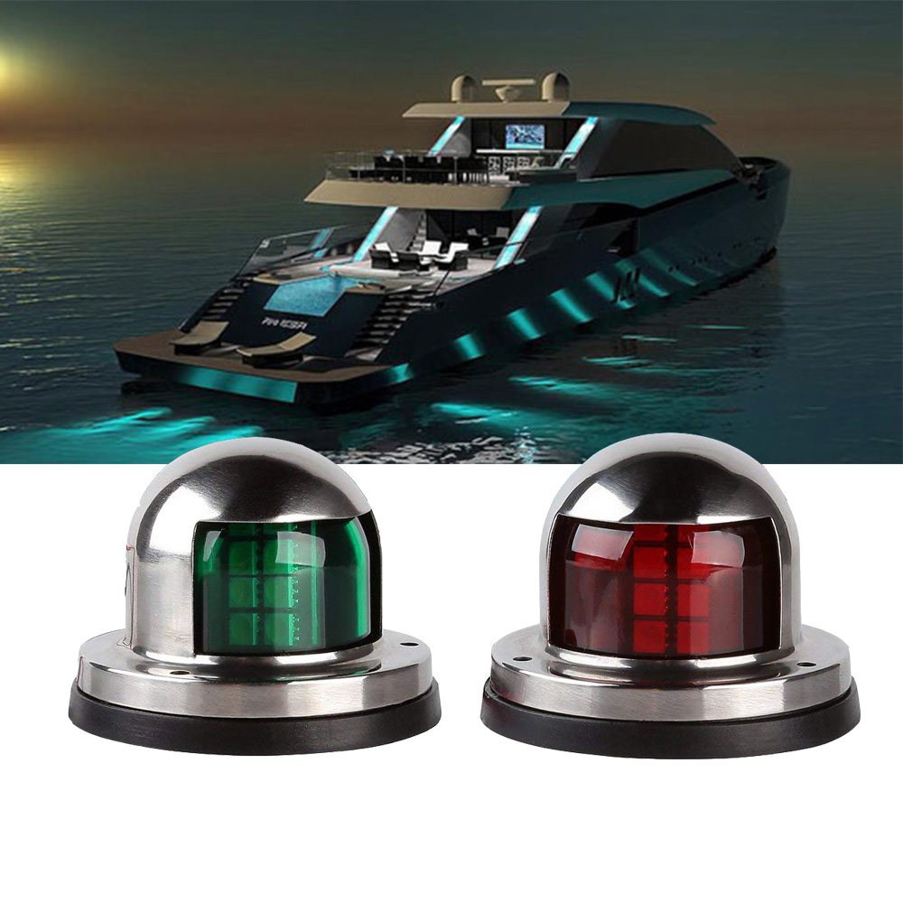 Personal Watercraft Parts & Accessories The Best Kemimoto 1 Pair Safety 12v Led Navigation Lights For Jet Ski Pwc Marine Boat Bow Waterproof Led Lighting Stripe Kit