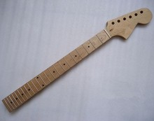 Top quality 22 Fret inlay dots Canadian maple Electric Guitar Neck Guitar Parts Wholesale can be customized