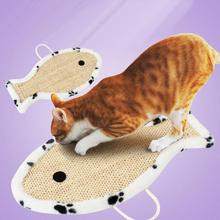 Dog Cat Pets Kitten Scratch Pad Board Toy Play Card Board Catnip Bed Pet Scatching Fun Provide Entertainment Exercise t123(China)